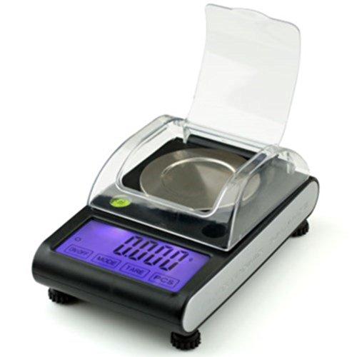 American Weigh Scales ZEO-50 Zeo Black 50 x 0001G Miligram Scale
