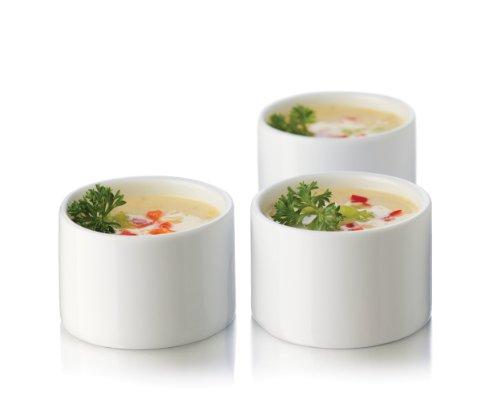 Libbey Just Tasting Round Bowl Set, Ceramic, (13pcs) 12 Bowls- One Recipe Card