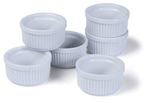 Prepworks By Progressive Porcelain Stacking Ramekins - Set Of 6