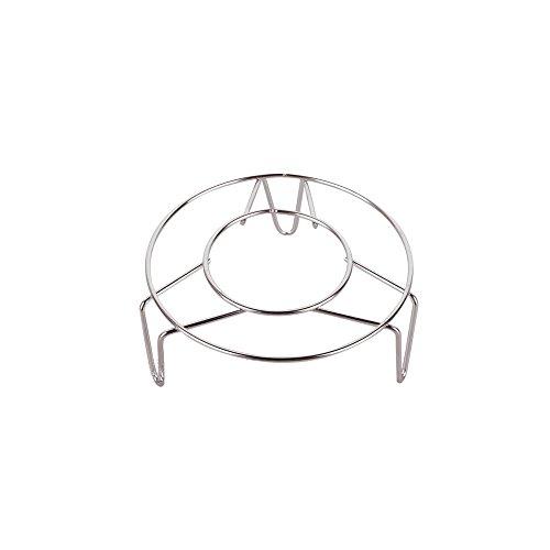Creative one Stainless Steel Home Kitchenware Round Steamer Rack Stand 2 Height-55 Diameter