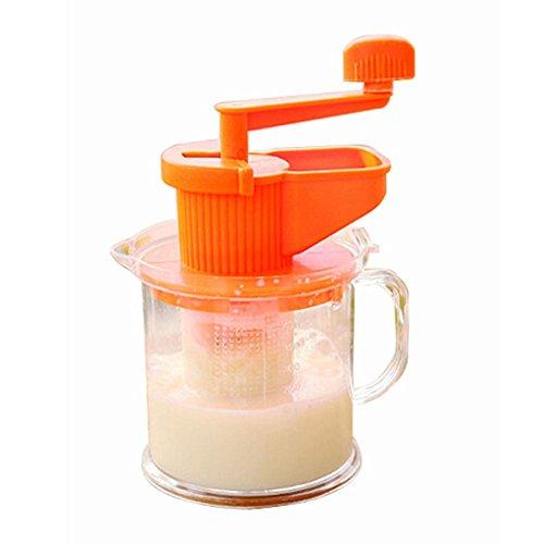 boutique1583 Household Hand Soybean Milk Maker Fruit Juicer Extractor