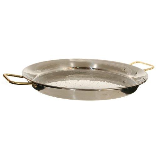 Garcima 13-inch Stainless Steel Paella Pan 32cm