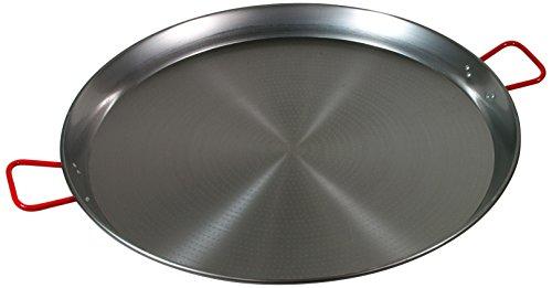 Garcima 32-Inch Carbon Steel Paella Pan 80cm