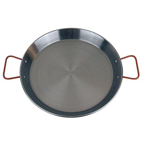 MageFesa Carbon Steel Paella Pan 18 Inch
