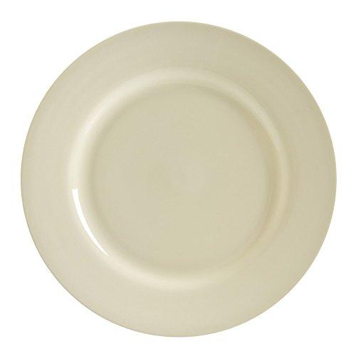 10 Strawberry Street Royal Cream 11875 ChargerBuffet Plate Set of 6 Cream