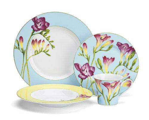 Cuisinart CDP01-S4T Tille Collection 16-Piece Porcelain Dinnerware Set