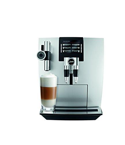 Jura 15075 Automatic Coffee Machine J90 Brilliant Silver
