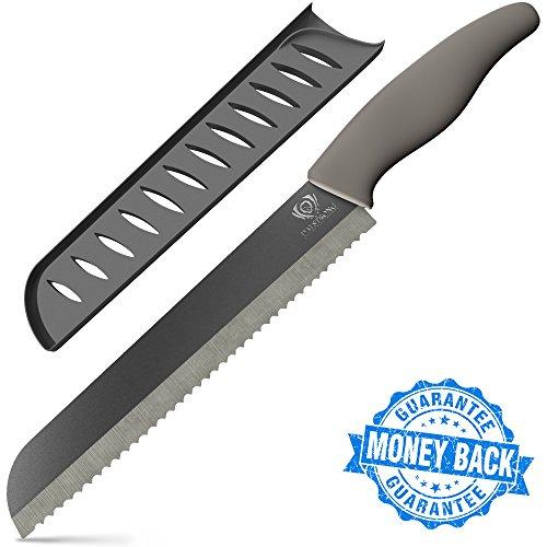 "Dalstrong Bread Knife - Barracuda Blade - Serrated Ceramic - 8"""