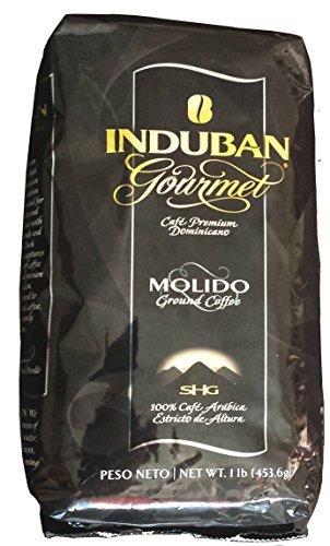 Induban Gourmet Ground Coffee Dominican Republic Premium 16 Oz