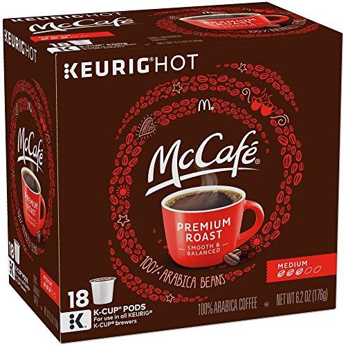 McCafe Premium Medium Roast Coffee K-Cup Pods 18 Counts Pack of 3