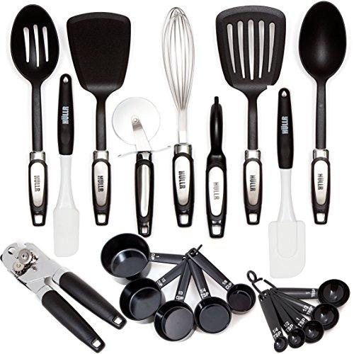 HULLR 20-Piece Premium Cooking Kitchen Utensils Tool Gadget Set