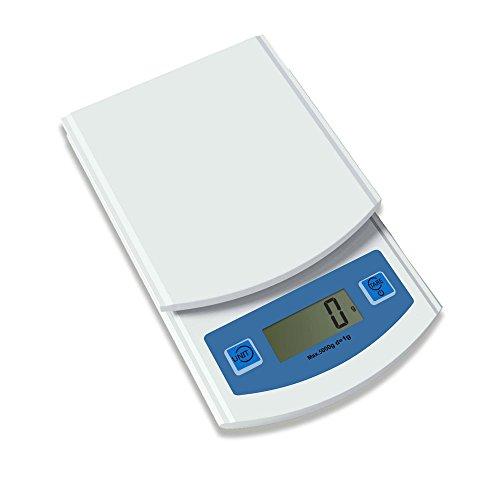 New Field Ultra Thin Plastic Hot Selling Electroninc Cheap Mini Kitchen Scale 5000gd1g Blue