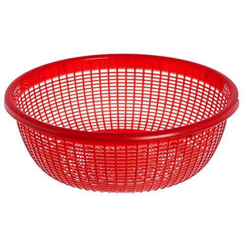 Excellante Plastic Wash Basket, 12.5, Assorted Colors
