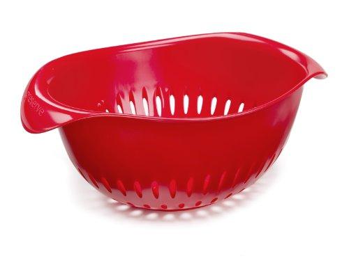 Preserve 1-1/2-quart Plastic Colander, Red