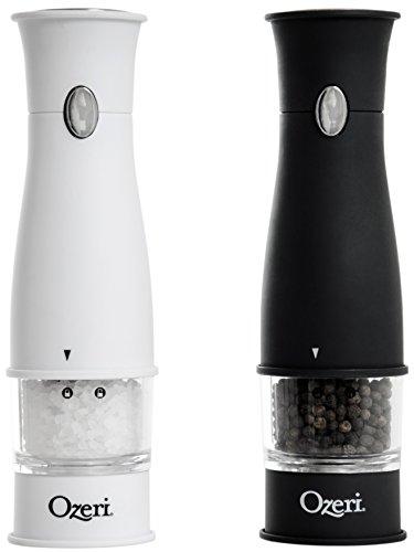 Ozeri Artesio Electric Salt and Pepper Grinder Set BPA-Free