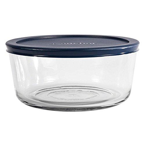 Anchor Hocking 85908L11 Round 7-Cup Kitchen Storage Bowl with Lid