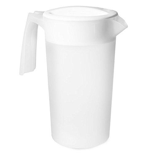 2 Liter 12 Gallon BPA FREE Plastic Beverage Serving Pitcher Dishwasher Safe