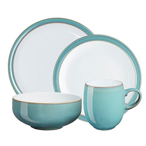 Denby Azure 16-Piece Dinnerware Set