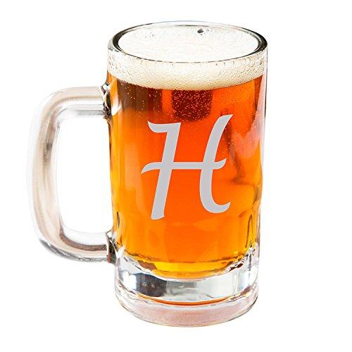 Engraved Beer Mug Glasses Personalized Beer Steins Glass Etched Beer Mug Glass Customized Beer Mug Glass