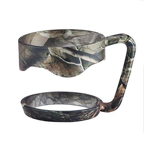 EVERMARKET Handle for Yeti Rambler 30 Ounce Tumblers Rtic Sic Cup Ozark Trail and more Tumbler mug 30 oz Camo