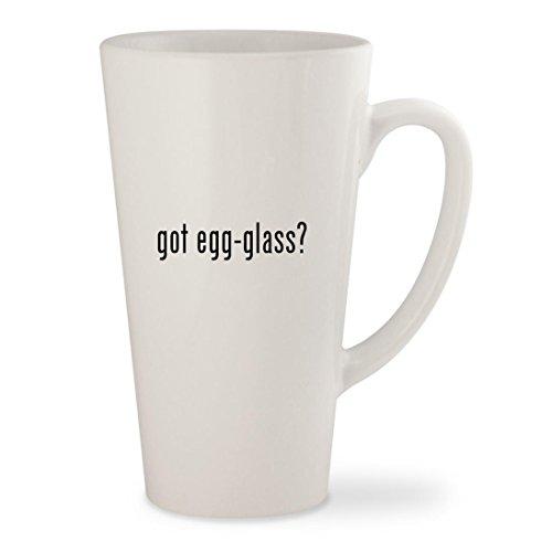got egg-glass - White 17oz Ceramic Latte Mug Cup