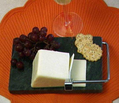 Prodyne 603MG Green Marble Cheese Slicer