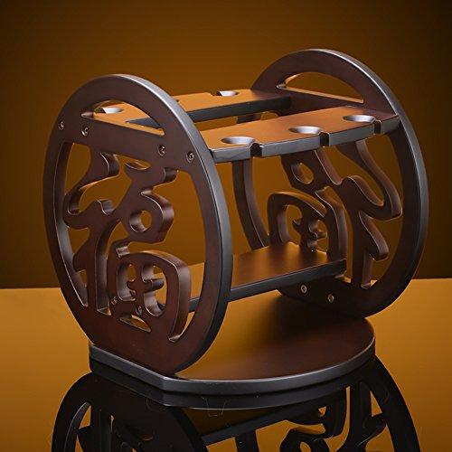European ideas wine racks ornaments wooden wine glass rack-A