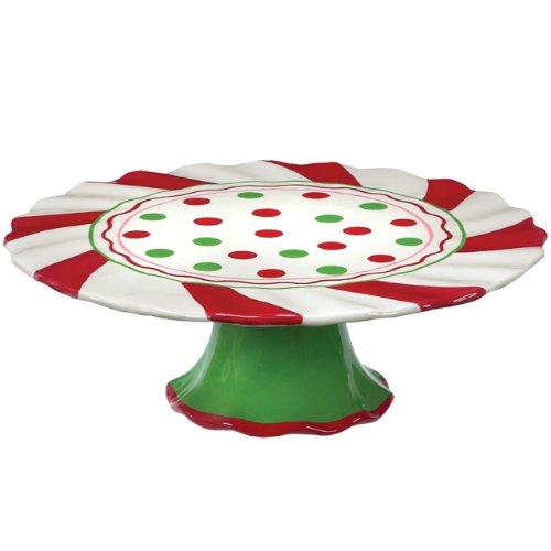 Boston Warehouse Merry Cupcakes Cake Platter