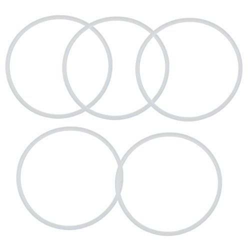 Kitchen Pressure Cooker Rubber Gasket Sealing Ring 30cm Inner Dia 5pcs