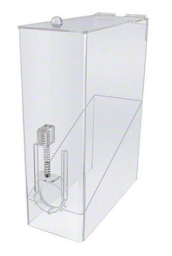 Update International CBD-AC 9 Lb Single Whole Bean Coffee Dispenser