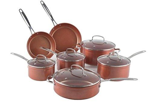 NuWave Duralon Ceramic Nonstick 12-Piece Cookware Set