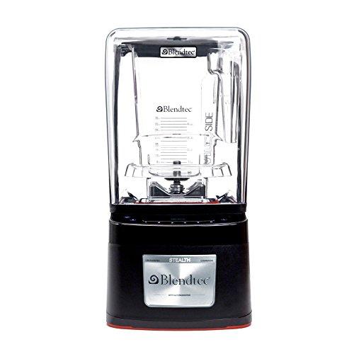 Blendtec 100340 - Countertop Stealth Blender w 3 qt WildSide Jars