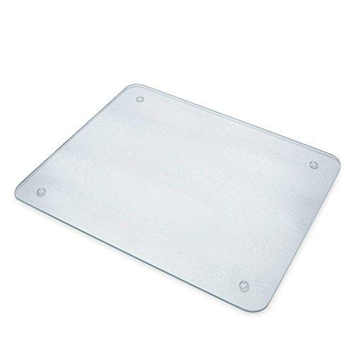 Chop-Chop Glass Cutting Board Or Counter Saver 16 x 20 Inches