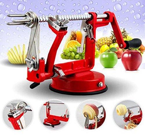 Fruit Cutter Slicer for Creative 3 in 1 Apple Slinky Machine Peeler Corer Useful Kitchen Tool