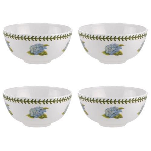 Portmeirion Botanic Garden Melamine Set Of 4 Bowls Hydrangea