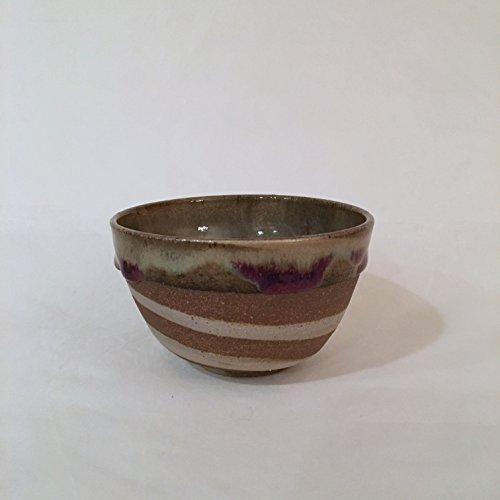Tea Bowl Handmade Ceramic Bowl Multi Color Bowl 14 oz RWTB3