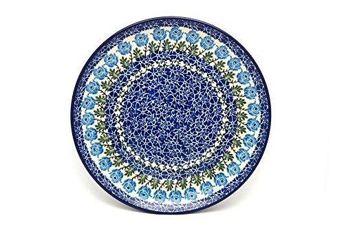 Polish Pottery Plate - 10 Dinner - Antique Rose