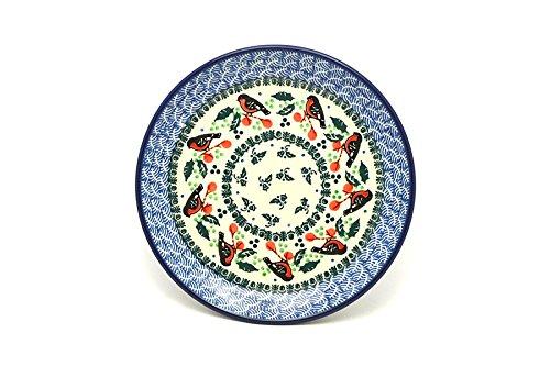 Polish Pottery Plate - SaladDessert 7 34 - Red Robin