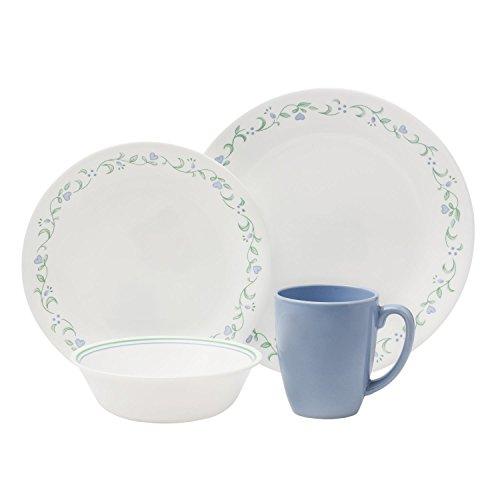 Corelle Livingware 16-Piece Dinnerware Set Country Cottage Service for 4