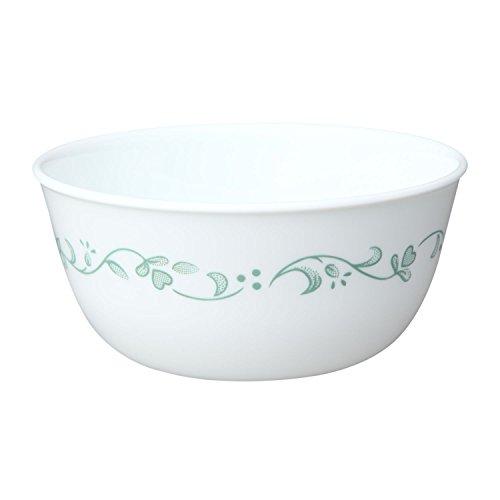Corelle Livingware Country Cottage 28 Ounce Soup  Cereal Bowl Bowl Set of 8