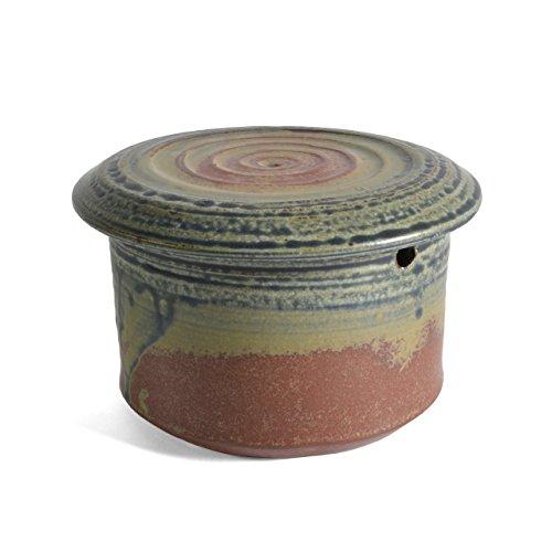 Holman Pottery French Butter Keeper Desert Glaze