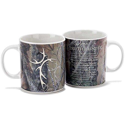 Camo Truth Hunter 20 Oz Ceramic Stoneware Coffee Cup Mug