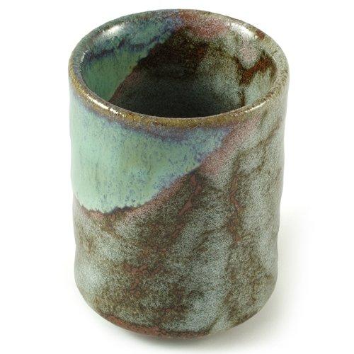 Japanese Stoneware Coffee Cup - Hand Glazed Ceramic Handleless Tea Bowl