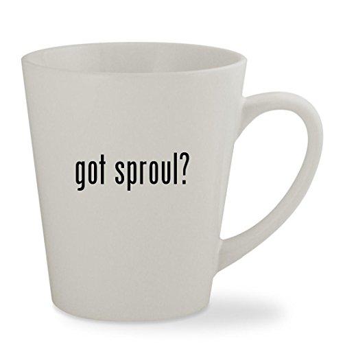 got sproul - 12oz White Sturdy Ceramic Latte Cup Mug