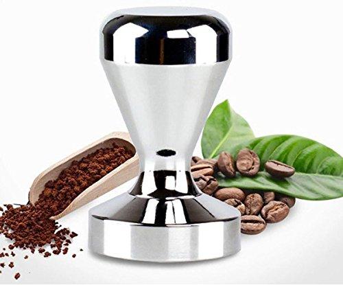 Bluefun Espresso Coffee Tamper - Stainless Steel American Convex Base Coffee Bean Press 51mm