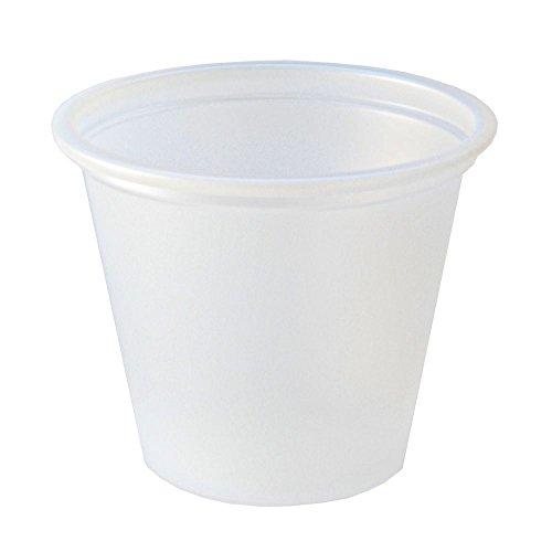 Fabri-Kal 9505192 Translucent 1 Oz Plastic Souffle Cup - 2500  CS