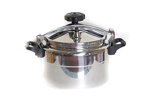 Aluminum Pressure Cooker with Safety Valve 9 Liter