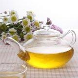 Suns Tea TM 22oz Ultra Clear Borosilicate Glass Teapot Infuser pure glass no metal or plastic parts