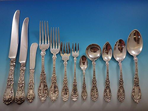 Paris by Gorham Sterling Silver Flatware Set 12 Service 149 Pcs Dinner Cherubs