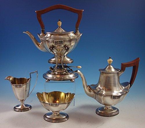 Lansdowne by Gorham Sterling Silver Tea Set 4pc 1842